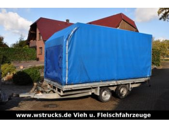 Curtainsider trailer Plane Spriegel