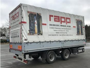 Curtainsider trailer  Schmidt - Tandemanhänger TPT/13/E/6,5