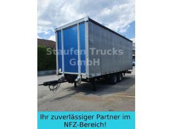 Curtainsider trailer Spier Tandem Pritsche/ Schiebe Plane luftgefedert