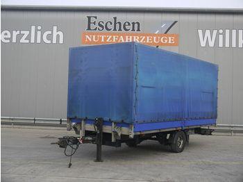 Curtainsider trailer Spier ZPL155 Anhänger Pritsche / Plane, BPW-Achsen