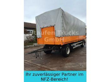 Curtainsider trailer Staiger luftgef.  2-Achs Pritsche Plane 18 to