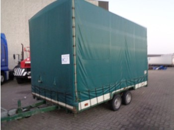Van Weel VW 2001 + 2 Axle - curtainsider trailer