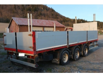 Dropside trailer ATKA Containerhenger