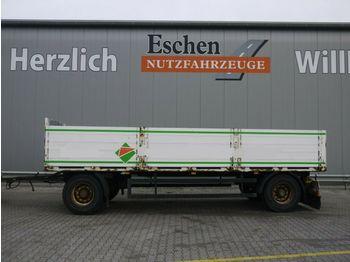 Dropside trailer Kögel 2 Achs Drehschemel, Luft, SAF