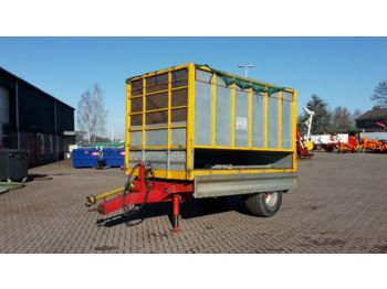 Flatbed trailer Jako Tiger 50 snipperkar