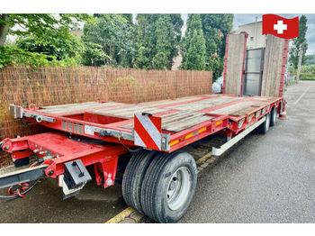 Goldhofer TU3-29/80  - flatbed trailer