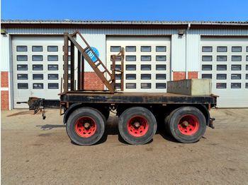 Flatbed trailer Hilse