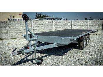 Niewiadów Platforma uniwersalna Niewidów/BORO ATLAS 5m - flatbed trailer