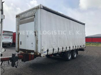 Kapell trailer Ackermann Z-PA-F10 5/6 2E Edscha Durchlader