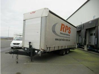 Kapell trailer Fliegl TPS 100 Gardine, Edscha, Portaltüren