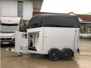 Livestock trailer BOECKMANN Champion Esprit silver+blackSK Pferdeanhänger