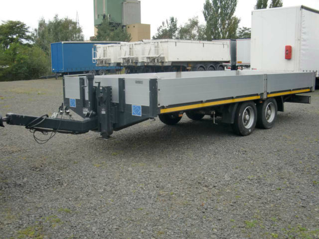 hirth pht tandem tieflader auffahrrampen low loader trailer from germany for sale at truck1 id. Black Bedroom Furniture Sets. Home Design Ideas