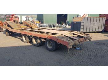 Low loader trailer Dieplader