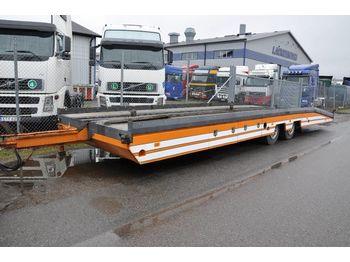 Low loader trailer  EKSJÖ MK-KT 8000