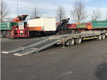 Low loader trailer Goldhofer 4 Achs Tieflader TU 4 32/80: picture 1
