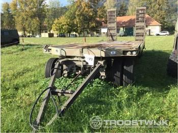 Low loader trailer Goldhofer Goldhofer MTLA 25T MTLA 25T: picture 1
