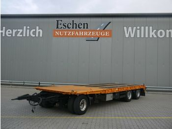 Low loader trailer Goldhofer TUP-L3-24/80*Tieflader*Auffahrrampen*BPW