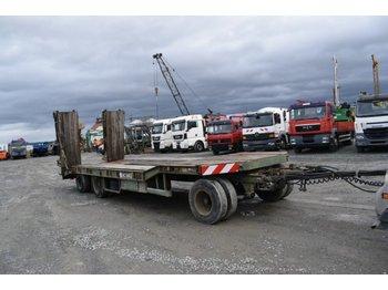 Low loader trailer Goldhofer TÜ 3-18/80 / hydr. Rampen / TüV 06-20