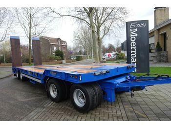 Low loader trailer Goldhofer TU-L-4 Mit Hydraulische Rampen