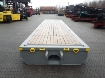 Low loader trailer HOUCON RR-GC-40FT-100T low