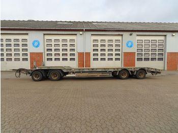 Low loader trailer Humbaur