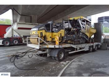 Istrail 3 Akslet Maskinslepehenger - low loader trailer