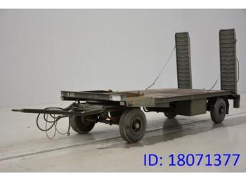 Low loader trailer MOL Low bed trailer
