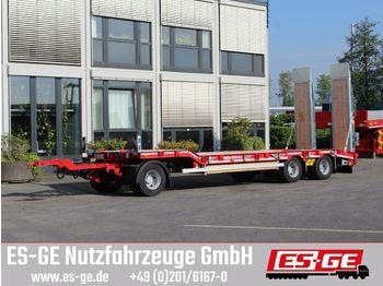 Low loader trailer Müller-Mitteltal 3-Achs-Tiefladeanhänger