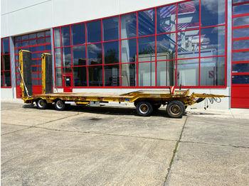 Müller-Mitteltal  4 Achs Tiefladeranhänger  - low loader trailer