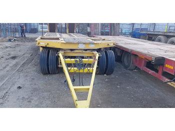 Low loader trailer SCHWARZMÜLLER TU30/100//
