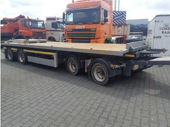 Low loader trailer Vogelzang 4 assige AHW