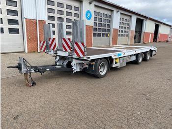 Low loader trailer  Wiese, DS 3-24TL-T