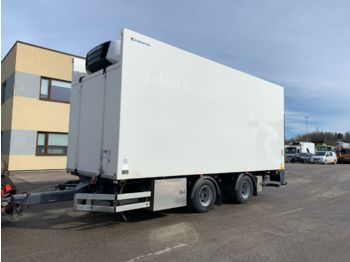 ISTRAIL 2-axel + LIFT +DOUBLE STOCK - refrigerator trailer