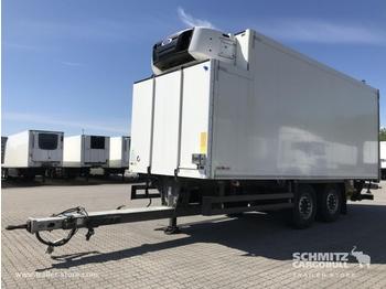 Refrigerator trailer SCHMITZ Zentralachsanhänger Tiefkühler Standard Taillift