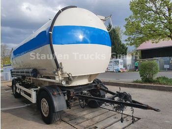 Tank trailer Spitzer 4-Kammer ALU-Lebensmittelsilo  2 bar 32.000 lit