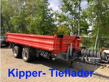 Möslein  19 t Tandemkipper- Tieflader  - tippbil trailer