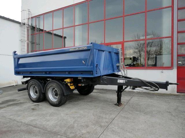 meiller 18 t tandem 3 seiten kipper tipper trailer from germany for sale at truck1 id 794122. Black Bedroom Furniture Sets. Home Design Ideas