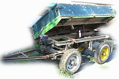 multicar anh nger mit brief kipper handpumpe tipper trailer from germany for sale at truck1. Black Bedroom Furniture Sets. Home Design Ideas