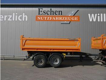 Tipper trailer Meiller MZDA 18/21, 9 m³, Liftachse, BPW