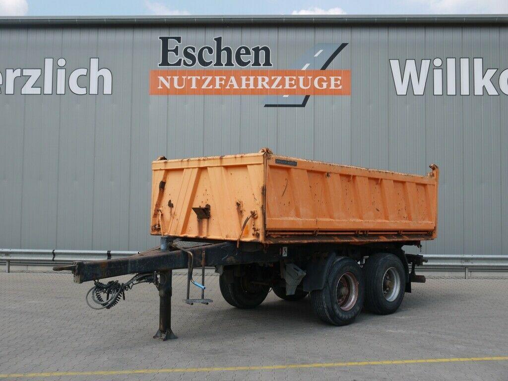 tipper trailer Meiller MZDA 18/22 Stahl*Trommel*1000 Bordwände*HU05/22
