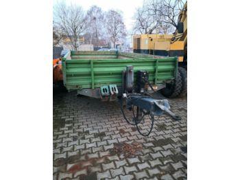 Tipper trailer Müller-Mitteltal KA-TA-E 10.5 Dreiseitenkipper mit Alu Rampen
