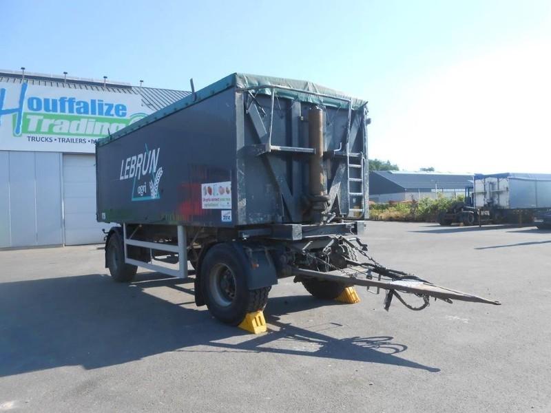 tipper trailer Onbekend chariot benne 2 essieux