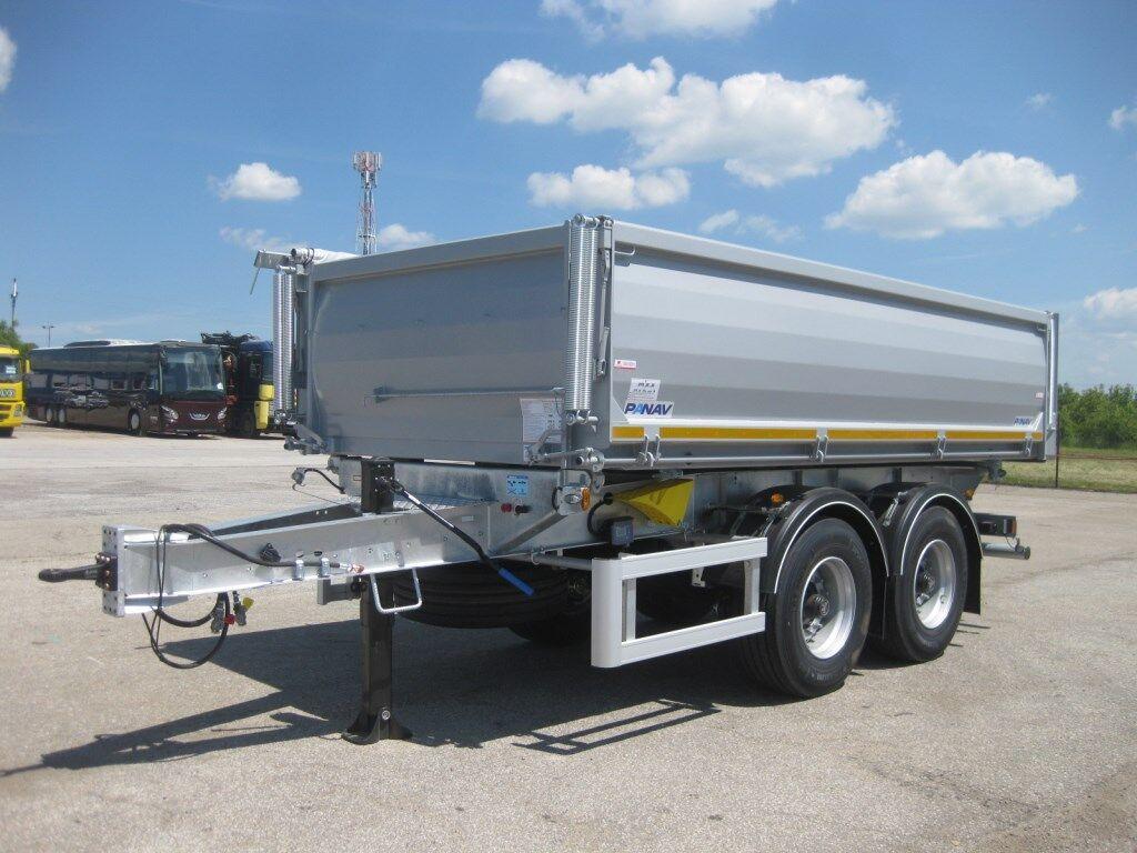 tipper trailer PANAV TS 3 18 dvouosý