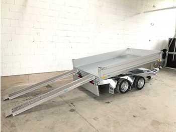Tipper trailer SARIS PK30 E Rampen Dreiseitenkipper