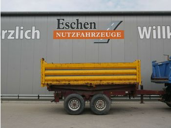 Schütte Tandem, 11m³, Blatt  - tipper trailer