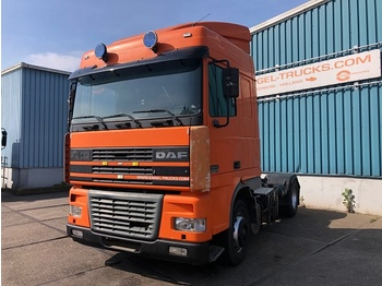 DAF FT95-380XF SPACECAB (EURO 2 / ZF16 MANUAL GEARBOX / AIRCONDITIONING / HYDRAULIC KIT) - trekker