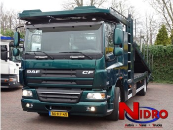 DAF 75.310 ACCIDENT CARS 2x Winch Camera System *Gereserveerd* - autotransporter truck