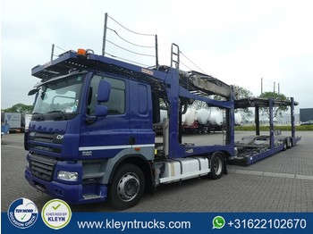 DAF CF 85.410 9 cars/pkw/auto's - autotransporter truck