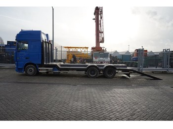 Autotransporter truck DAF XF 95.530 6X2 CAR AND MACHINE TRANSPORT: picture 1