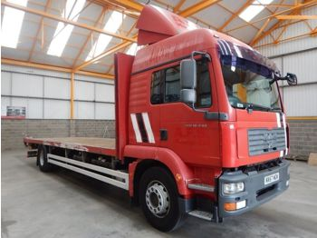 Autotransporter truck MAN TGM 18.240, 4 X 2 FLATBED - 2008 - NX57 NGN